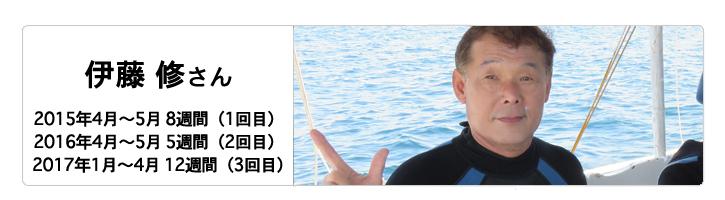 伊藤修さん